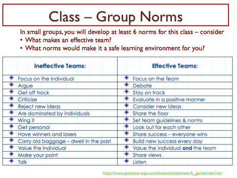 Social Norms and Values