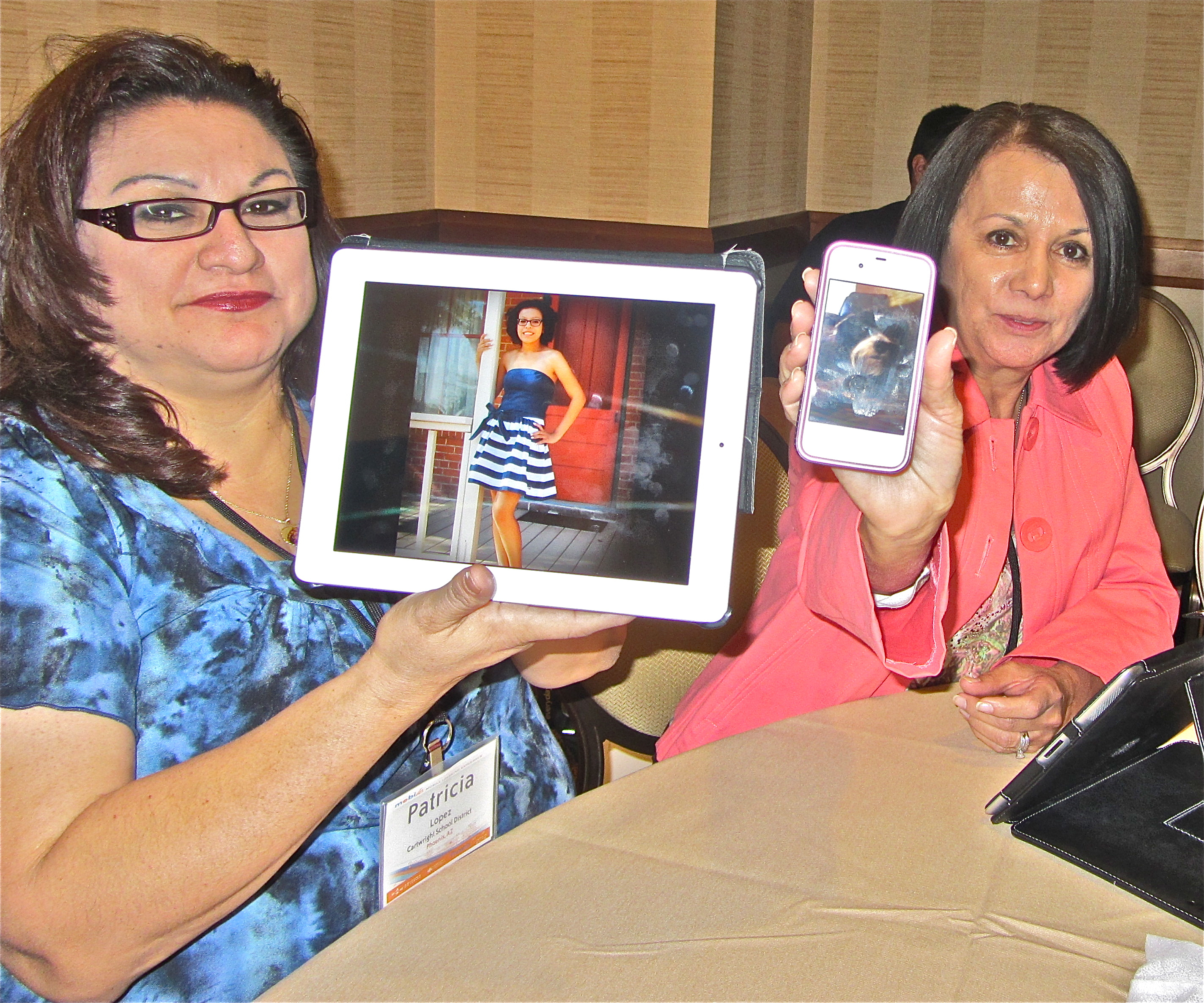 Cell Sharing: An Ice Breaker Using Mobile-Devices (BYOD