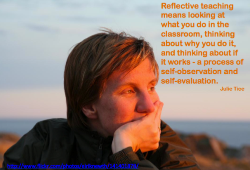 reflective practice in the classroom 'reflective teaching', 'reflective practice', 'reflective thinking', 'the teacher as decision-maker' 'the teacher as researcher' and 'the teacher as reflective practitioner' are now widely used in a variety of.