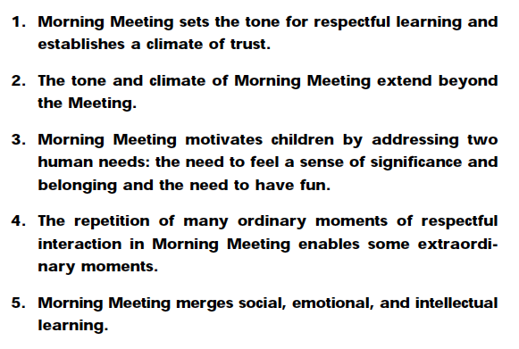 Morning meetings check ins and social emotional learning for Morning meeting lesson plan template