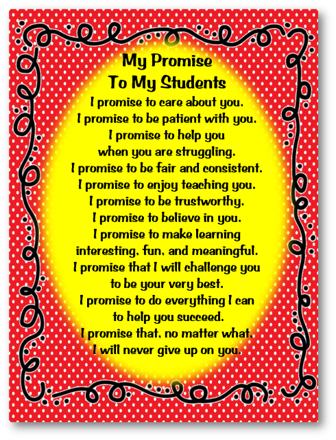 teachers promise 2