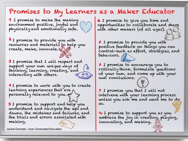 promises as a maker educator