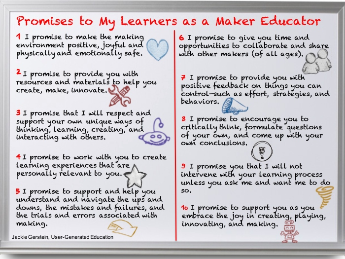 promises as a maker educator