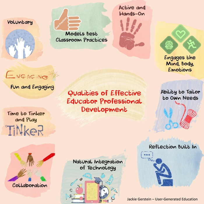 qualities of effective PD