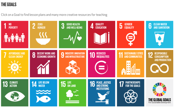 The World's Largest Lesson: Sustainable Development Goals