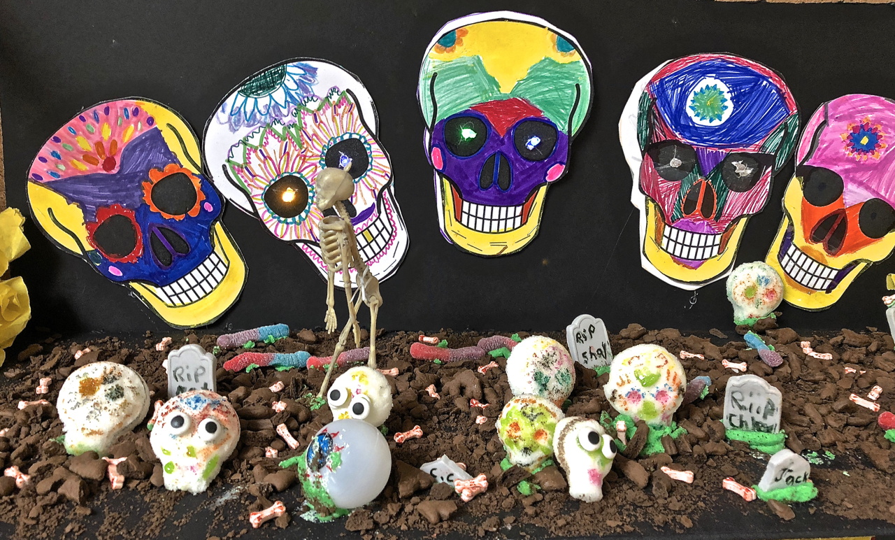 Day of the Dead (Dia de los Muertos) Displays: A Maker Education Project