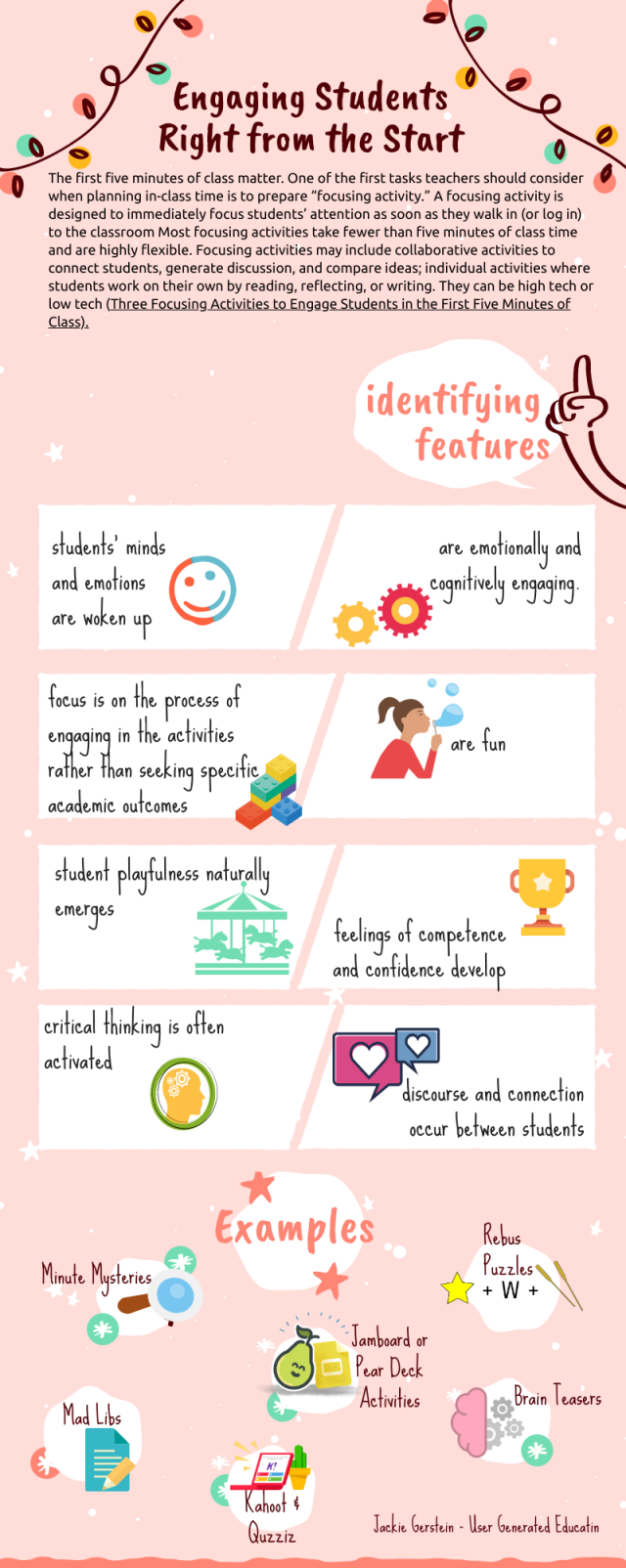 Engaging Students Right From the Start | User Generated Education